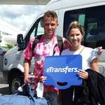 Photograph of an eTransfers client who booked a Cancun airport transportation